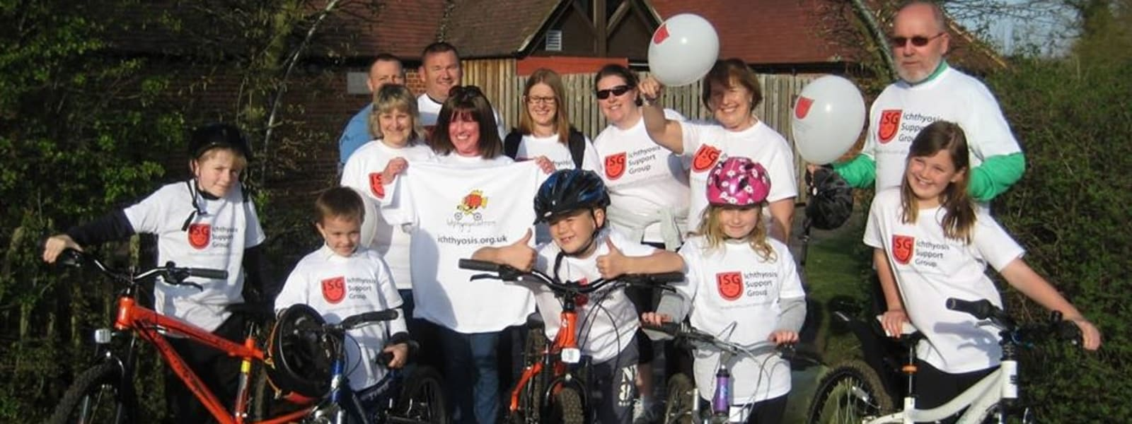 Fundraise for the Ichthyosis Support Group